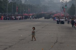 Little Girl in Pyongyang