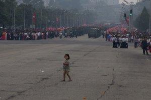 Little Girl in Pyongyang