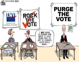 Purge the Vote (Cagle)