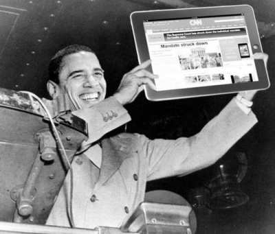 Obama As Truman Parody