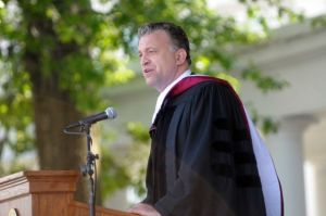 Dylan Ratigan Delivering the 2012 Commencement Speech at Union College