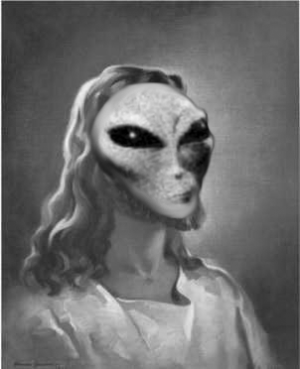 Only Alien Jesus Can Save US!
