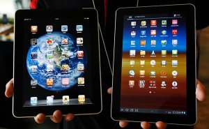 Don't Let the iPad and Galaxy Tab Touch!