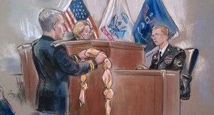 Prosecution's Pink Noose (AP)