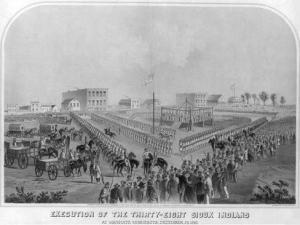 Execution of 38 Lakota in Minnesota