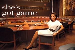 Susan Rice's Got Game