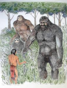 Native Americans and Sasquatch