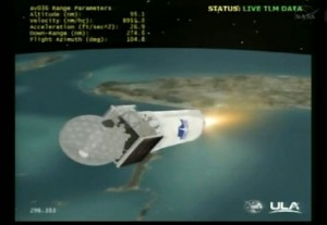 NASA-Tv feed of TDRS-K Launch
