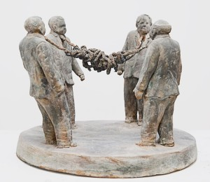 Gordian knot_Jesse Scaturro Sculpture
