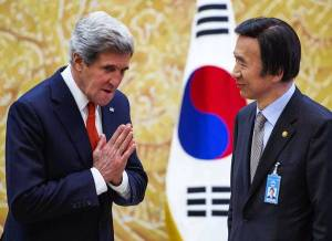 John Kerry, Yun Byung-se in Seoul