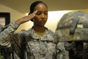 Forced to Salute Abusive Authority