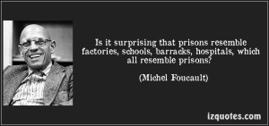 Foucault on Prisons and Society