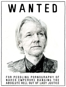 Wanted: Julian Assange