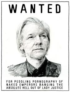 Wanted: Julian Assange