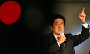 Shinzo Abe of Japan