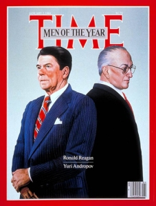 men of 1983: Reagan and Andropov
